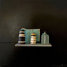 Bronze Still Life 83 by Jack McLean and Alice McLean (Metal Wall Sculpture)