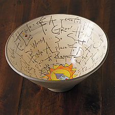 Home Bowl by Noelle VanHendrick and Eric Hendrick (Ceramic Bowl)