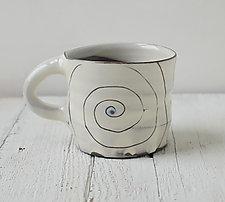 Gratitude Spiral Mug by Noelle VanHendrick and Eric Hendrick (Ceramic Mug)