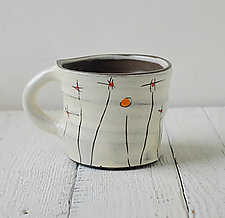 Field Flowers Mug by Noelle VanHendrick and Eric Hendrick (Ceramic Mug)