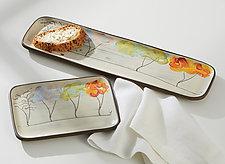 Seasons Serveware by Noelle VanHendrick and Eric Hendrick (Ceramic Serving Piece)