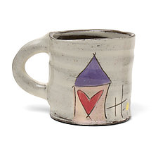 Home Sweet Home Mug by Noelle VanHendrick and Eric Hendrick (Ceramic Mug)