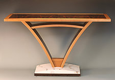 Bridge Table by Derek Secor Davis (Wood Console Table)