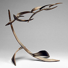 Organics Variation 1 by Charles McBride White (Bronze Sculpture)