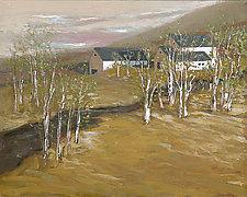 Birch Tree Farm by Robert Ferrucci (Giclee Print)