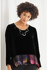 Viola Top by Giselle Shepatin  (Velvet Top)