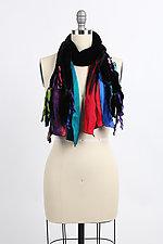 Velvet Ties Scarf by Giselle Shepatin  (Velvet Scarf)
