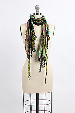 Scrapplique Scarf by Giselle Shepatin  (Woven Scarf)