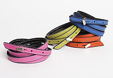 Yuko 5x Wrap Bracelet by Jutta Neumann  (Leather Bracelet)