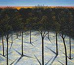 Cadman Plaza Winter by Scott Kahn (Giclée Print)