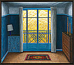 Blue Bedroom by Scott Kahn (Giclée Print)