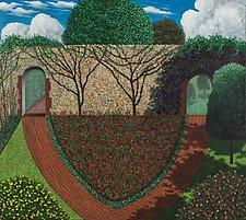 Kipling Gardens by Scott Kahn (Giclee Print)
