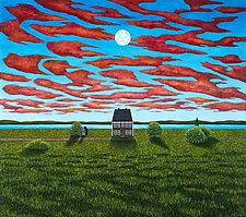 Point House, Moon by Scott Kahn (Giclee Print)