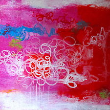 Flickering Moments 1 by Katherine Greene (Acrylic Painting)
