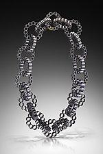 Helix Necklace by Jennifer Chin (Gold & Silver Necklace)