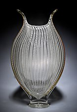 Zanfirico Foglio II by David Patchen (Art Glass Sculpture)