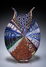Thread Foglio II by David Patchen (Glass Vessel)