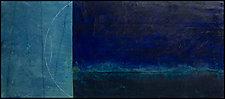 Night Navigation by Graceann Warn (Encaustic Painting)