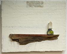 Haiku Series: Home by Graceann Warn (Mixed Media Wall Hanging)