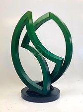 Green Arbor by John Wilbar (Wood Sculpture)