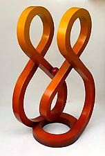 Equinox by John Wilbar (Wood Sculpture)