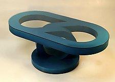 Coffee Table 302 by John Wilbar (Wood Coffee Table)