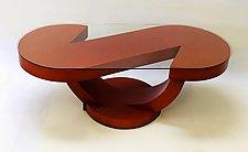 Half Note II by John Wilbar (Wood Coffee Table)