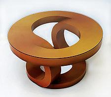 Autumn Coffee Table by John Wilbar (Wood Coffee Table)