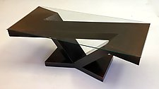 Forged by John Wilbar (Wood Coffee Table)
