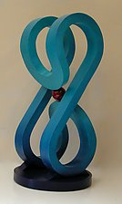 Figure 8 by John Wilbar (Wood Sculpture)