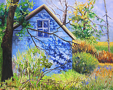 Next Door 2 by Judy Hawkins (Oil Painting)