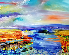 Journey by Judy Hawkins (Oil Painting)