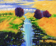 August Afternoon by Judy Hawkins (Oil Painting)