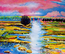 Like a Jewel by Judy Hawkins (Oil Painting)