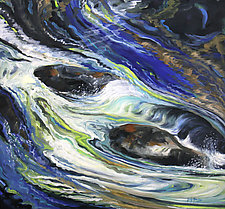 Lauren's View by Judy Hawkins (Oil Painting)