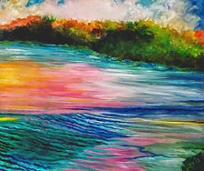 Cross Currents by Judy Hawkins (Oil Painting)