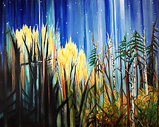 Star Light by Judy Hawkins (Oil Painting)