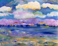 Snowmelt by Judy Hawkins (Oil Painting)