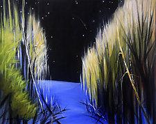 Moonlight by Judy Hawkins (Oil Painting)