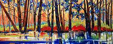 Bog Light by Judy Hawkins (Oil Painting)