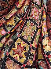 Victorian Crazy Quilt by Helen Klebesadel (Giclee Print)