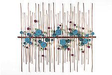 Aurora by Hannie Goldgewicht (Mixed-Media Wall Sculpture)
