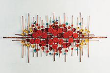 Awakenings by Hannie Goldgewicht (Metal Wall Sculpture)