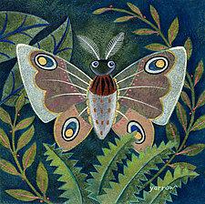 Forest Moth by Wynn Yarrow (Giclee Print)