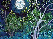 Blue Moon by Wynn Yarrow (Giclee Print)