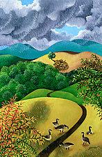Wild Geese by Wynn Yarrow (Giclee Print)