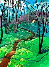Spring Begins With Yellow by Wynn Yarrow (Giclee Print)