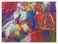 Study in Red Print by Joan Skogsberg Sanders (Giclee Print)