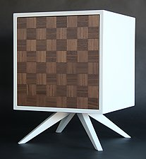 CubiCab by Kevin Irvin (Wood Side Table)
