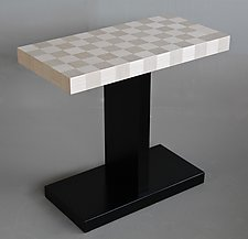 Levitation Side Table by Kevin Irvin (Wood Side Table)